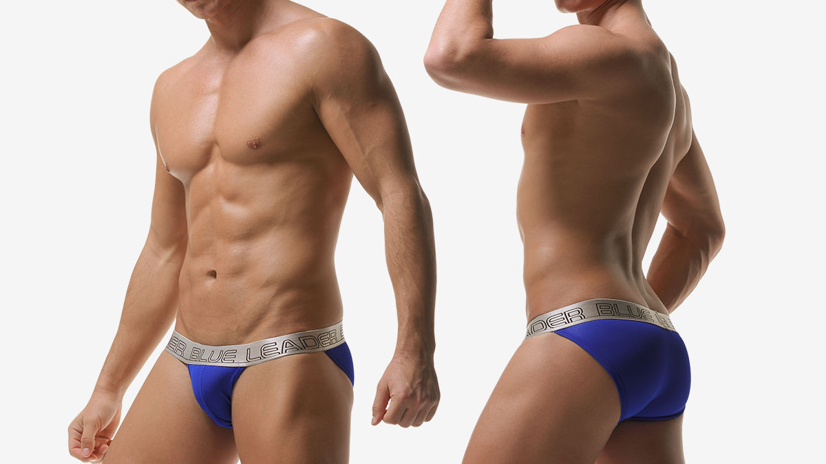 blue leader,洞洞,內囊袋,三角褲,男內褲,holes,inner pocket,briefs,underwear
