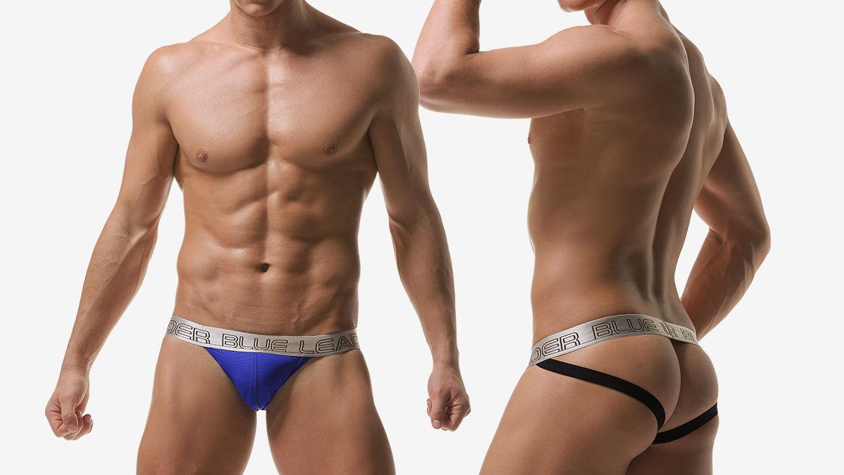 blue leader,洞洞,內囊袋,後空褲,男內褲,holes,inner pocket,jockstraps,underwear