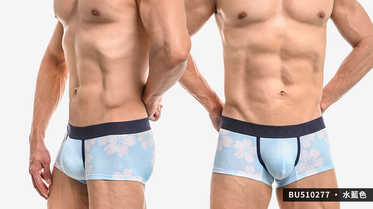 willmax,櫻花,tdt,好屌型,四角褲,男內褲,sakura,enhancing bulge,boxers,underwear,bu51027,黑色,black,水藍色,water blue,紫色,purple,bu510277