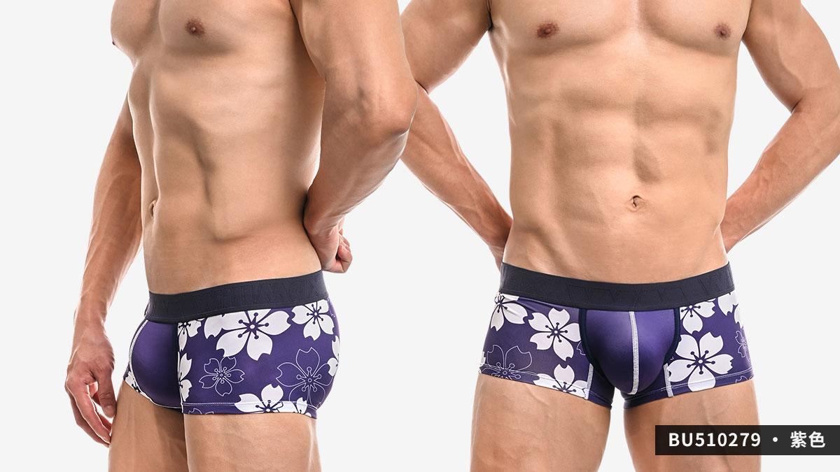willmax,櫻花,tdt,好屌型,四角褲,男內褲,sakura,enhancing bulge,boxers,underwear,bu51027,黑色,black,水藍色,water blue,紫色,purple,bu510279