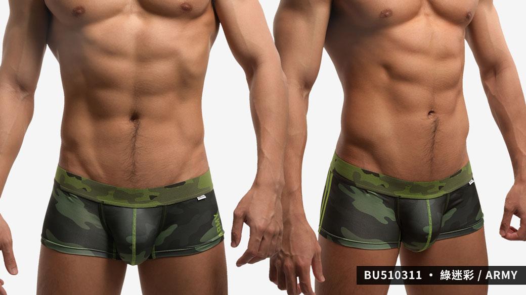willmax,迷彩,tdt,好屌型,四角褲,男內褲,camouflage,enhancing bulge,boxer,bu51031,綠色,green,,army,藍色,blue,navy,灰色,grey,air force,bu510311