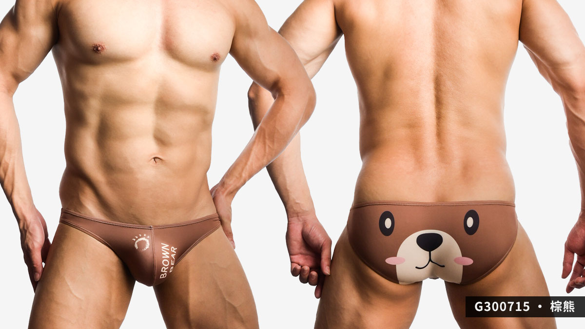 willmax,軍職,熊,三角褲,男內褲,military,bear,briefs,underwear,g30071,棕熊,g300713