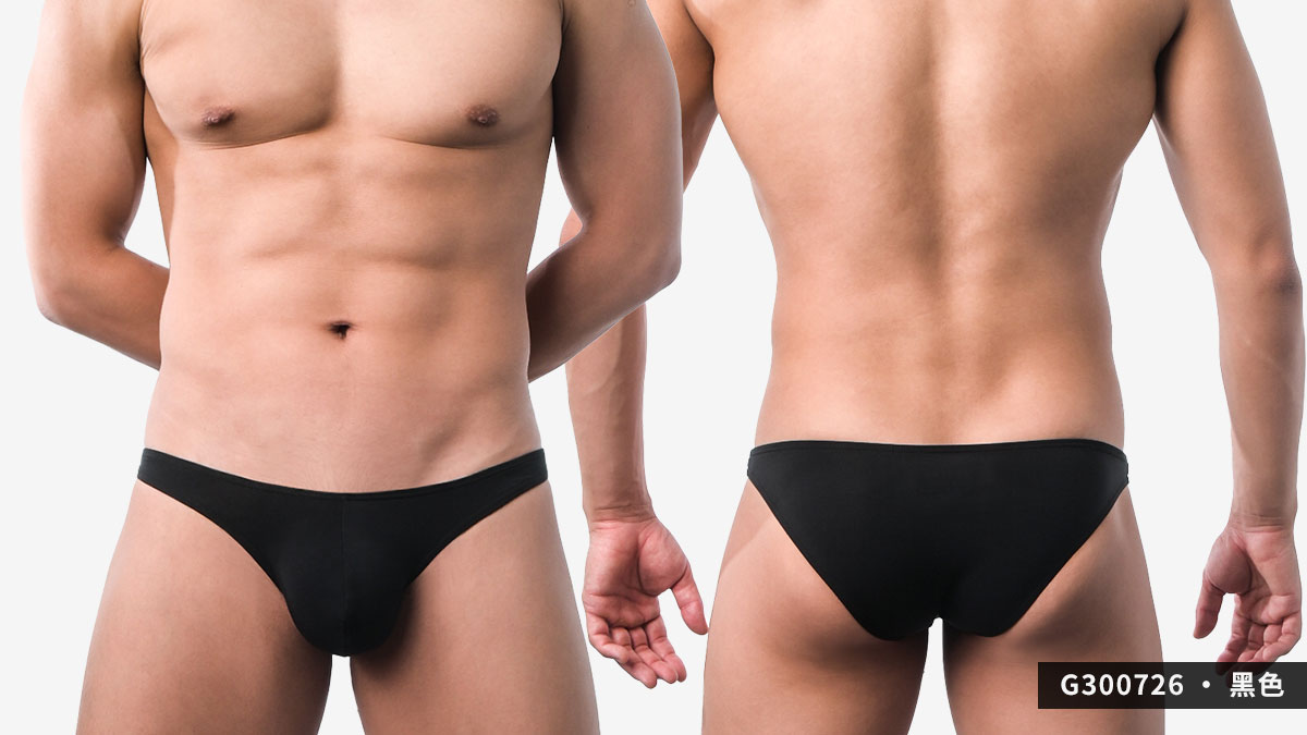 wantku,激凸,彈性,莫代爾,三角褲,男內褲,intense convex,rayon,briefs,underwear,g30072,黑色,black,g300726