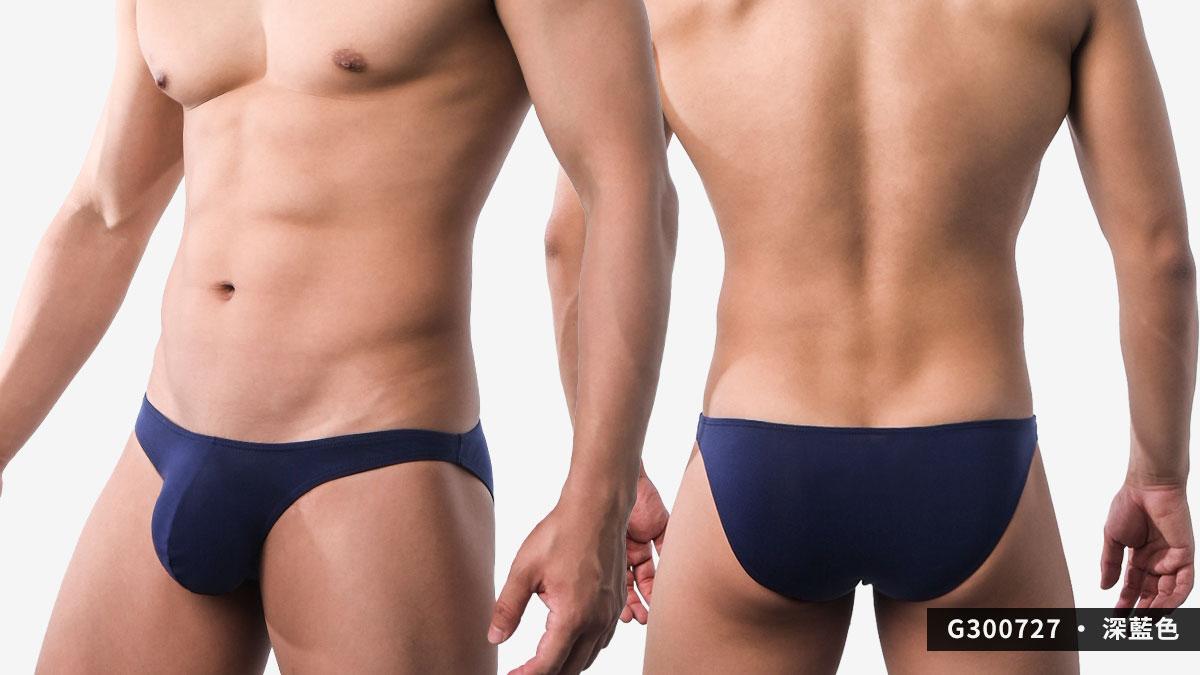 wantku,激凸,彈性,莫代爾,三角褲,男內褲,intense convex,rayon,briefs,underwear,g30072,深藍色,dark blue,g300727