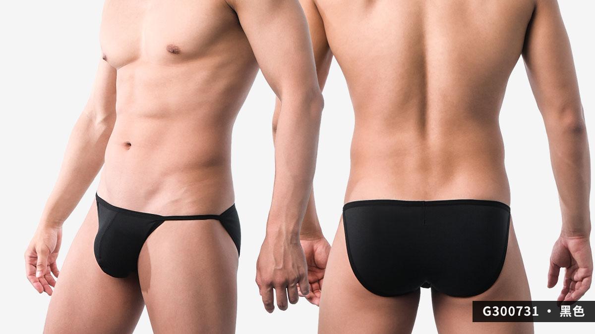 wantku,彈性,莫代爾,三角褲,男內褲,elastic,rayon,briefs,underwear,g30073,黑色,black,g300731