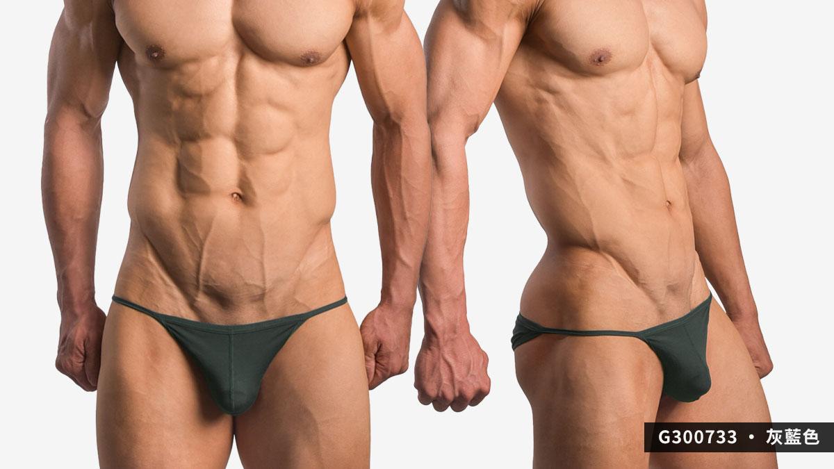 wantku,彈性,莫代爾,三角褲,男內褲,elastic,rayon,briefs,underwear,g30073,灰藍色,grey blue,g300733