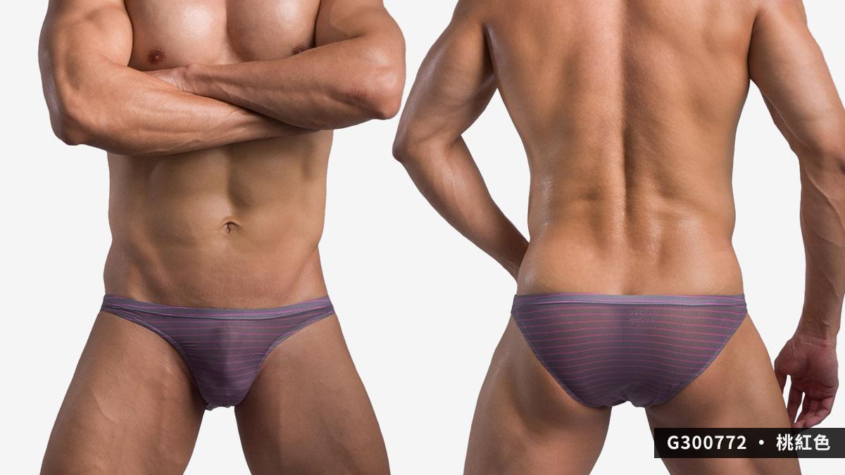 極薄,普邊,三角褲,男內褲,extremely thin,normal side,briefs,underwear,g30077,桃紅色,pink,g300772