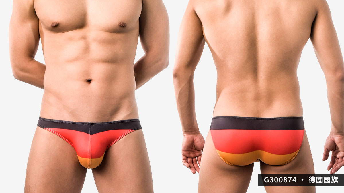 willmax,泰國,德國,國旗,三角褲,男內褲,thailand,germany,flag,briefs,underwear,g30087,g300874