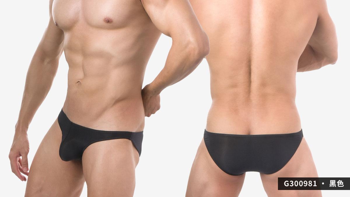 wantku,超薄,細羅紋,三角褲,男內褲,super thin,texture,briefs,underwear,g30098,黑色,black,g300981