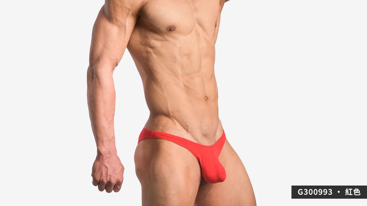 wantku,激凸,莫代爾,三角褲,男內褲,protruding,rayon,briefs,underwar,G30099,紅色,red,G300993