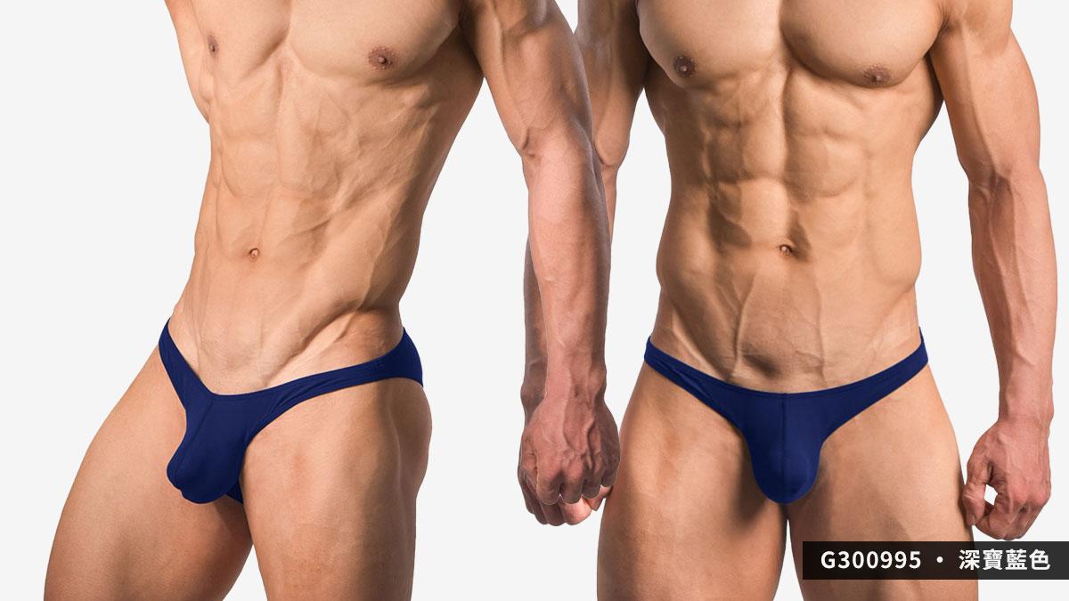 wantku,激凸,莫代爾,三角褲,男內褲,protruding,rayon,briefs,underwar,G30099,深寶藍色,dark blue,G300995