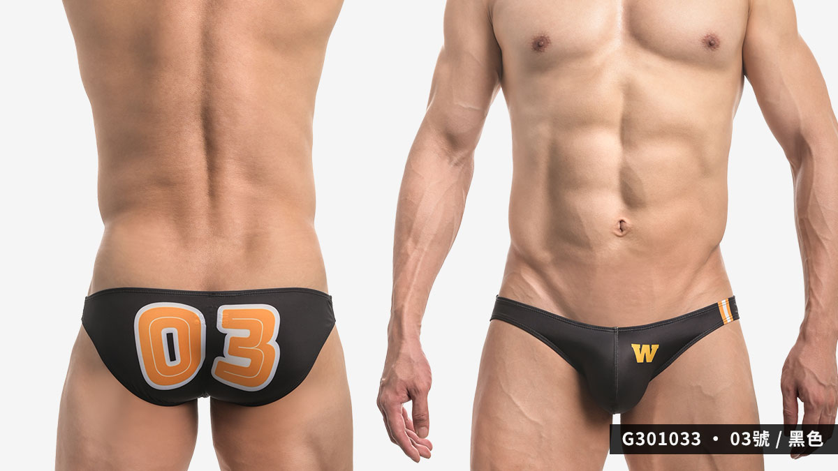 willmax,數字,低腰,三角褲 男內褲,number,low waist,briefs,underwear,g30103,03,黑色,black,g301033