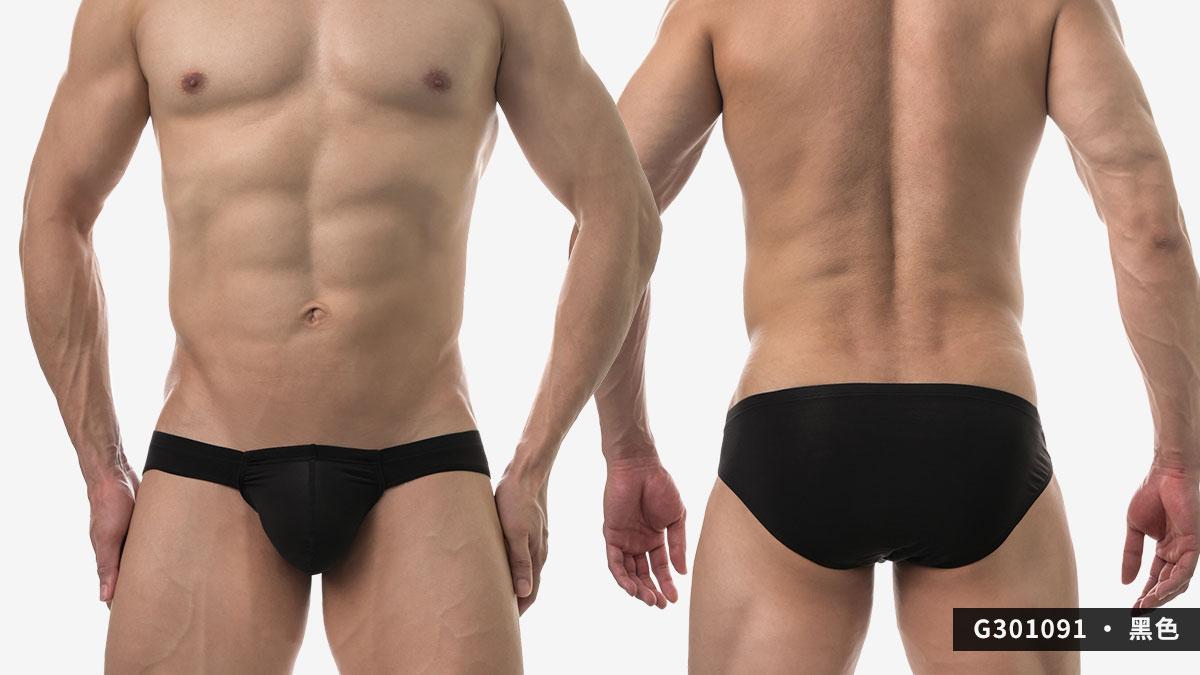 wantku,莫代爾,大空間,三角褲,男內褲,rayon,big space,briefs,underwear,g30109,黑色,black,g301091