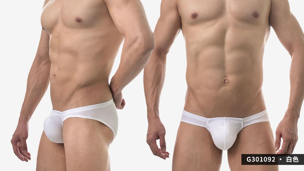 wantku,莫代爾,大空間,三角褲,男內褲,rayon,big space,briefs,underwear,g30109,白色,white,g301092