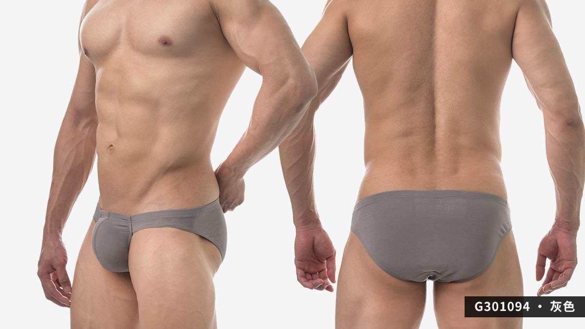 wantku,莫代爾,大空間,三角褲,男內褲,rayon,big space,briefs,underwear,g30109,灰色,grey,g301094