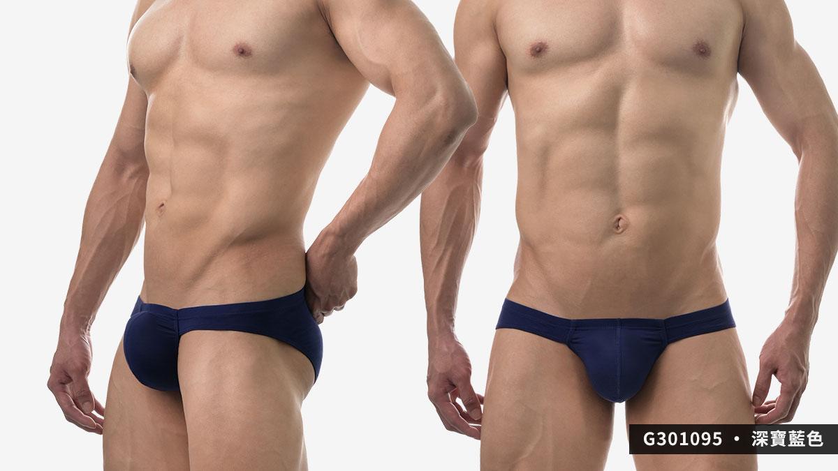 wantku,莫代爾,大空間,三角褲,男內褲,rayon,big space,briefs,underwear,g30109,深寶藍色,drak blue,g301095