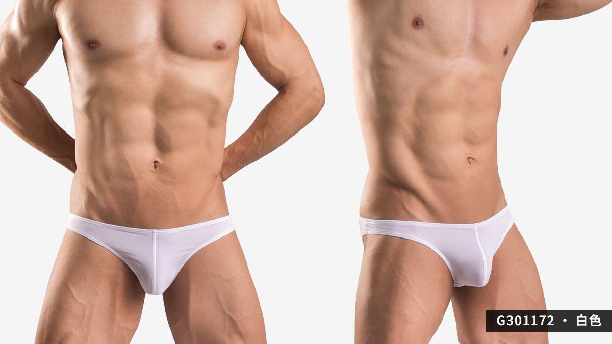 wantku,莫代爾,低腰,三角褲,男內褲,rayon,low waist,briefs,underwear,g30117,白色,white,G301172