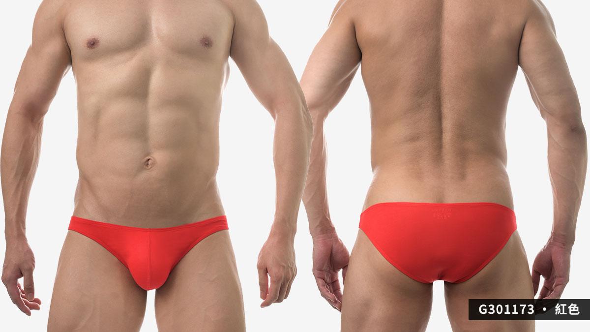 wantku,莫代爾,低腰,三角褲,男內褲,rayon,low waist,briefs,underwear,g30117,紅色,red,g301173