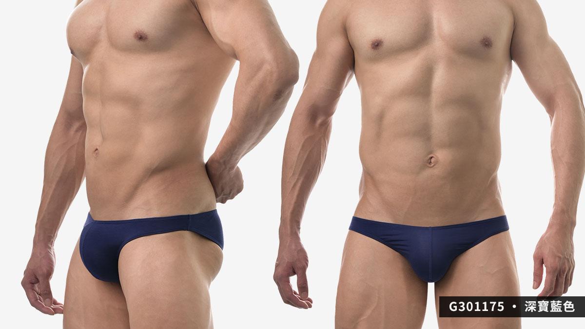 wantku,莫代爾,低腰,三角褲,男內褲,rayon,low waist,briefs,underwear,g30117,深寶藍色,drak blue,g301175