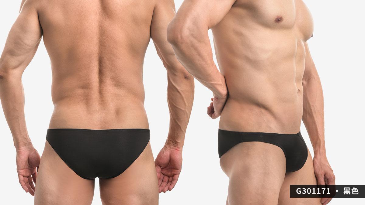 wantku,莫代爾,低腰,三角褲,男內褲,rayon,low waist,briefs,underwear,g30117,黑色,black,g301171