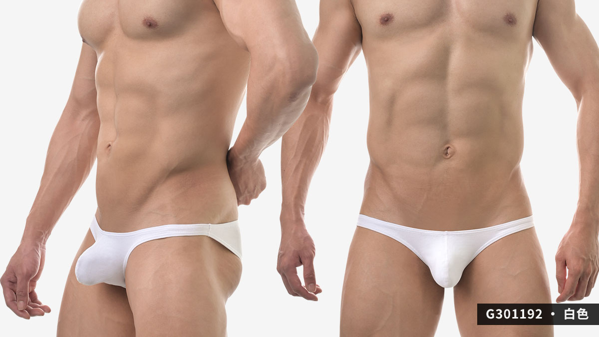 wantku,彈性,棉,激凸,三角褲,男內褲,elastic,cotton,protruding,briefs,underwear,g30119,黑色,black,白色,white,麻灰色,grey,g301192