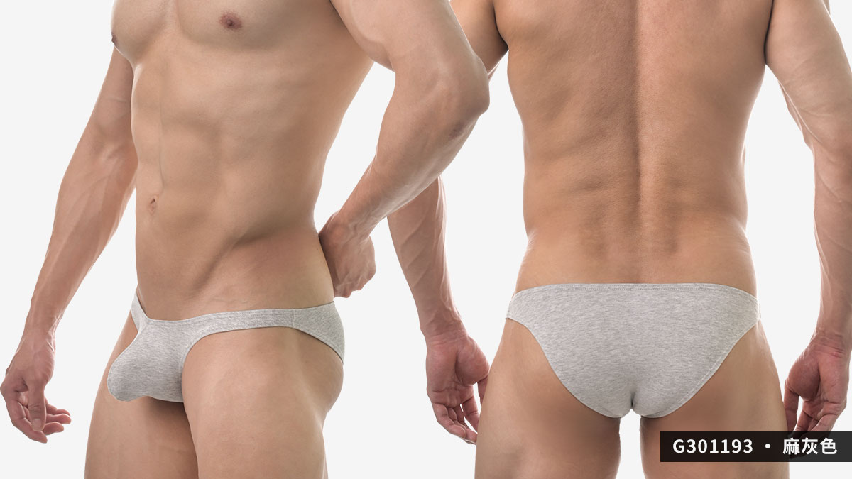 wantku,彈性,棉,激凸,三角褲,男內褲,elastic,cotton,protruding,briefs,underwear,g30119,黑色,black,白色,white,麻灰色,grey,g301193