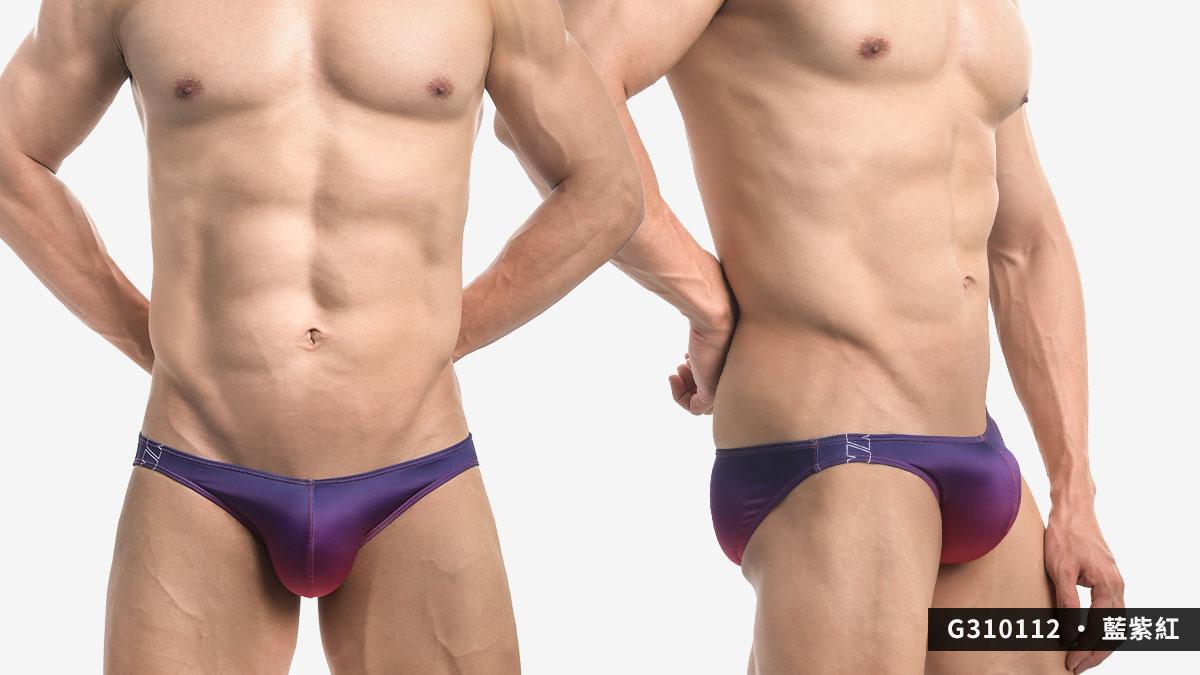 willmax,漸層,tdt,低腰,三角褲,男內褲,gradient,low waist,briefs,g31011,藍色,綠色,黃色,紫色,紅色,blue,green,yellow,purple,red,g310112