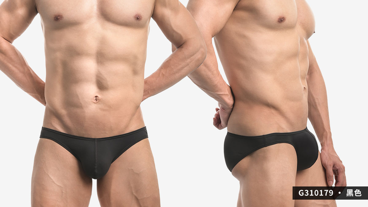 wantku,灰黑,基本款,低腰,三角褲,男內褲,basic styles,low waist,briefs,underwear,g31017,灰色,grey,黑色,black,g310179