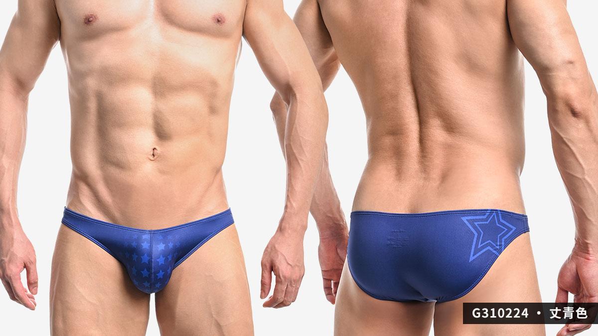 willmax,星星,tdt,低腰,三角褲,男內褲,stars,low waist,briefs,underwears,g31022,灰色,grey,丈青色,navy blue,g310224