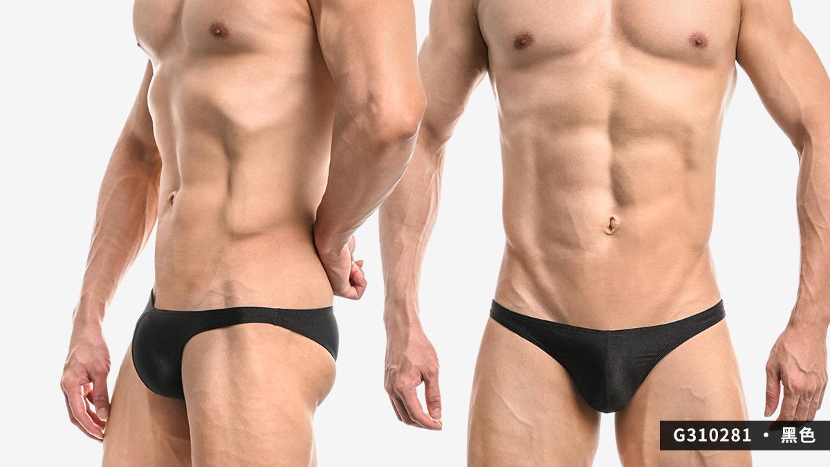wantku,霧面,細邊,低腰,三角褲,男內褲,g31028,matte,thin side,low waist,briefs,underwear,黑色,black,白色,white