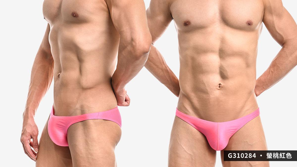 wantku,螢光,霧面,細邊,低腰,三角褲,男內褲,g31028,neon,matte,thin side,low waist,briefs,underwear,綠色,green,桃紅色,pink,黃色,yellow,g310284