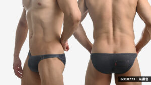 willmax,牛仔褲,圖紋,tdt,低腰,三角褲,男內褲,g31077,jamie,pattern,low waist,briefs,underwear,灰黑色,grey black,淺藍色,light blue