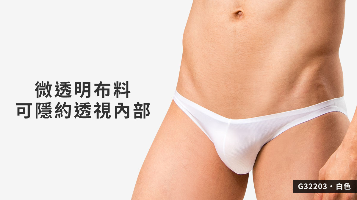 wantku,基本款,無痕,三角褲,男內褲,basic types,seamless,briefs,underwear,g3220,白色,white,g32203