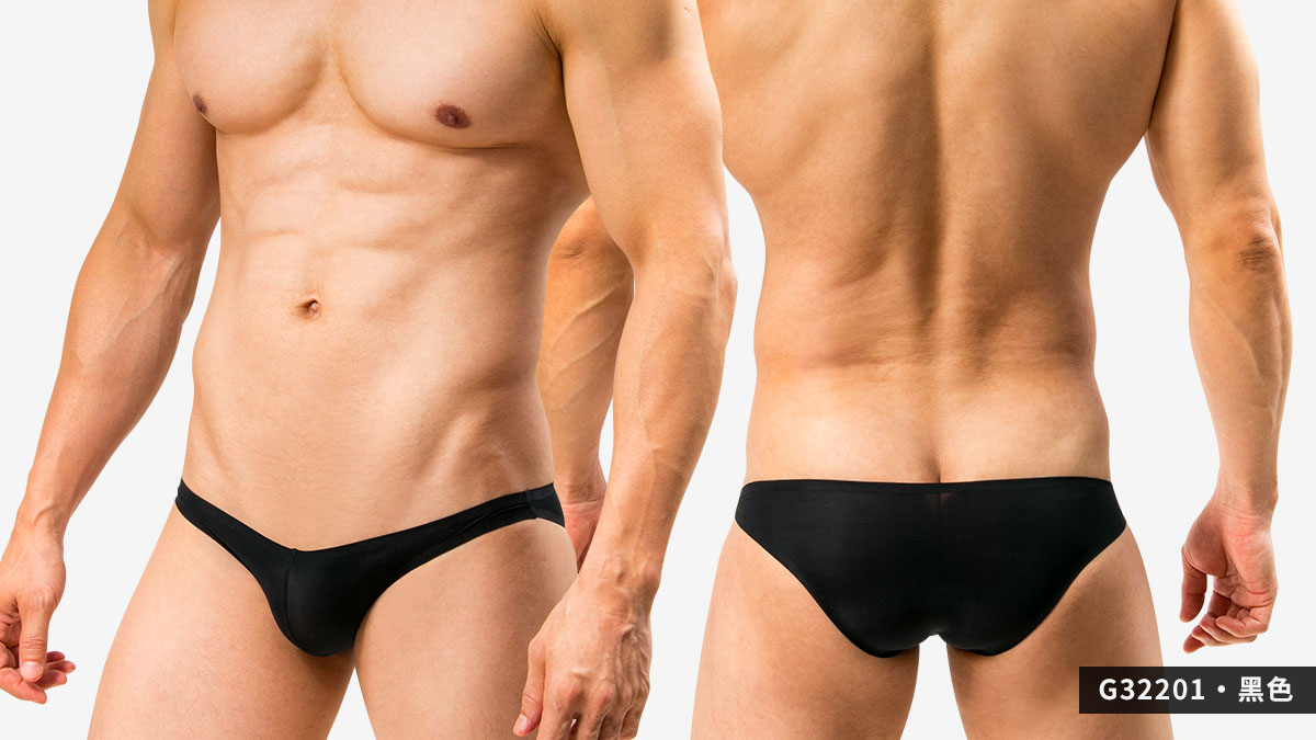 wantku,基本款,無痕,三角褲,男內褲,basic types,seamless,briefs,underwear,g3220,黑色,black,g32201
