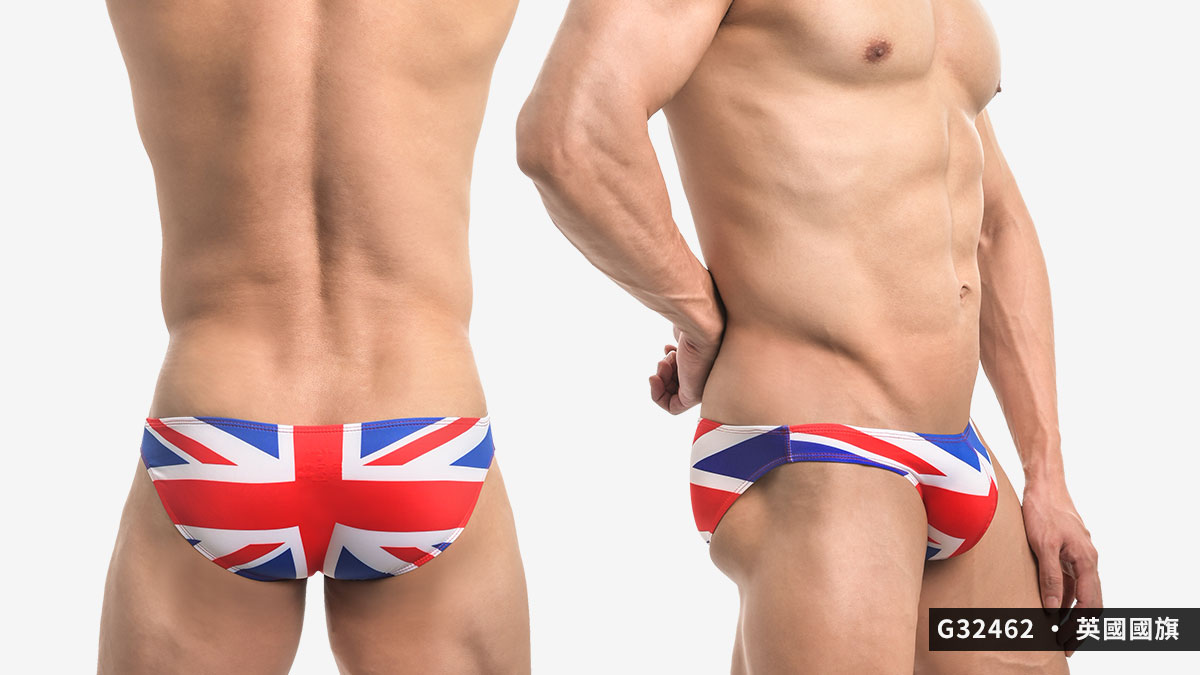 willmax,英國,美國,國旗,三角褲,男內褲,england,america,us,uk,flags,briefs,underwear,g3246