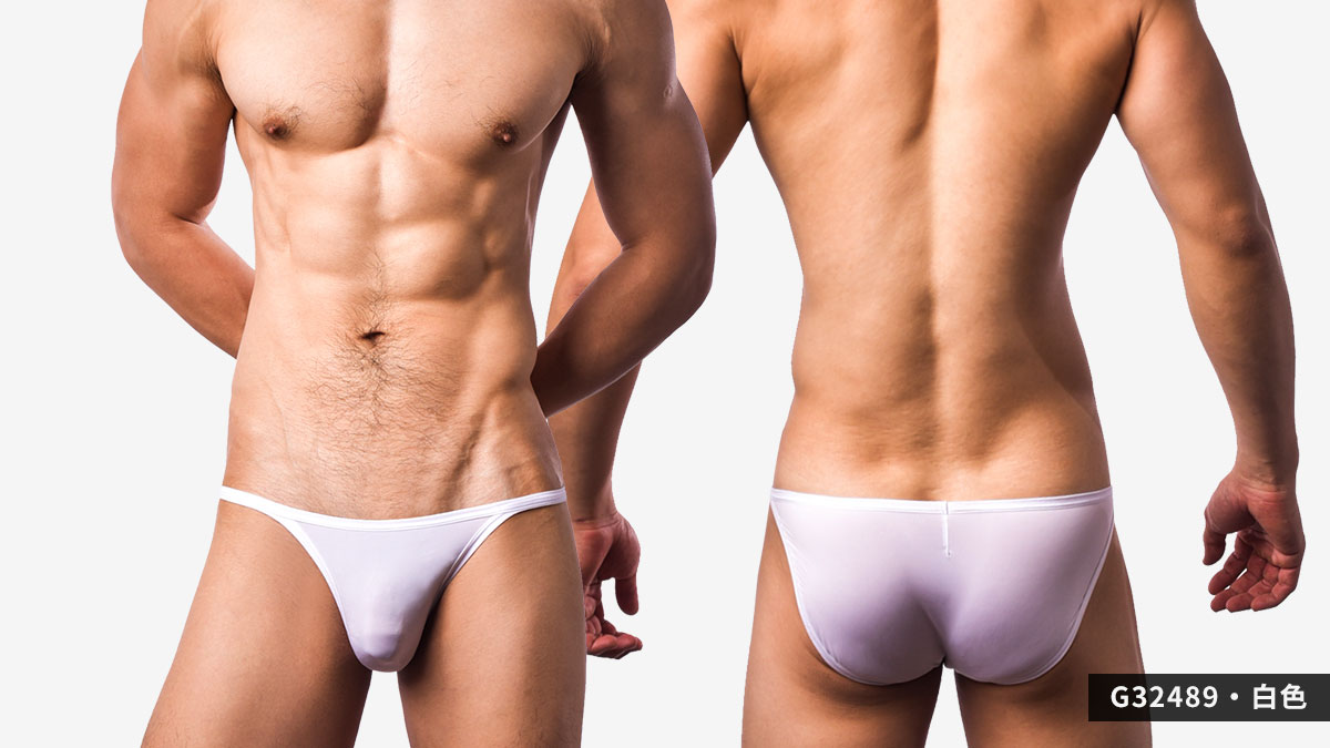 wantku,細邊,超薄,高岔,三角褲,男內褲,thin-edged,ultra-thin, high-waist,briefs,underwear,g3248,白色,white,g32489