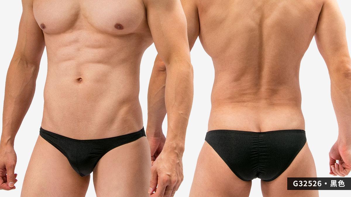 wantku,後中,抓皺線,三角褲,男內褲,backside,middle,scratch line,briefs,underwear,g3252,黑色,black,g32526