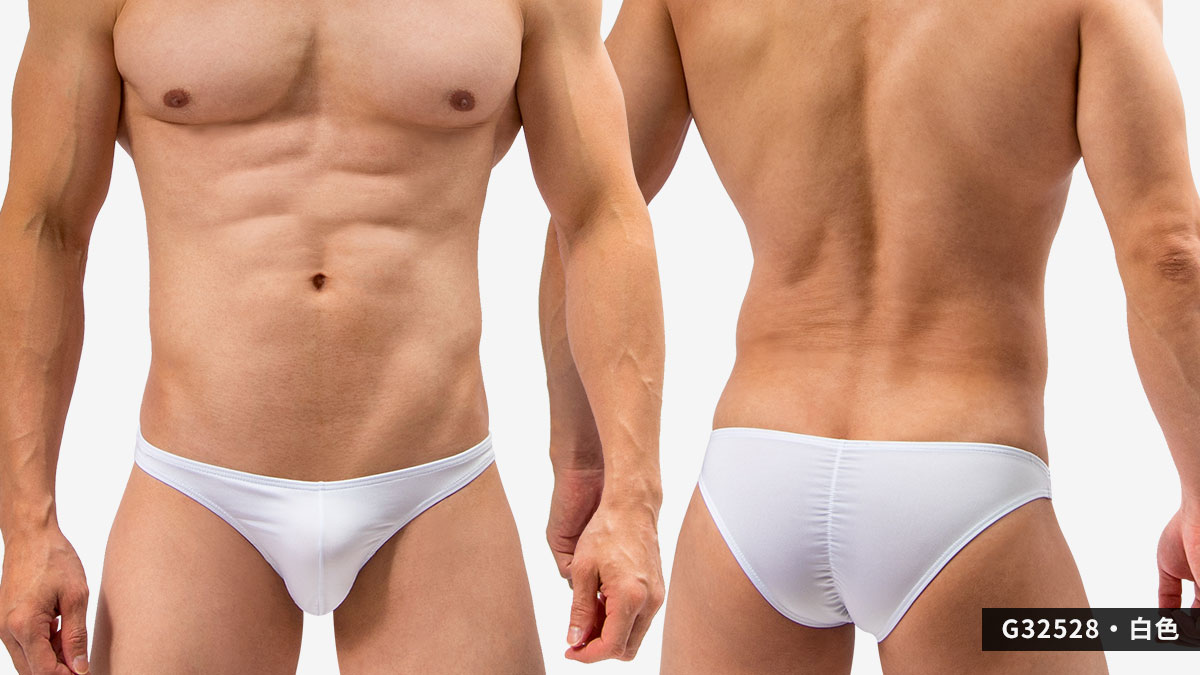 wantku,後中,抓皺線,三角褲,男內褲,backside,middle,scratch line,briefs,underwear,g3252,白色,white,g32528