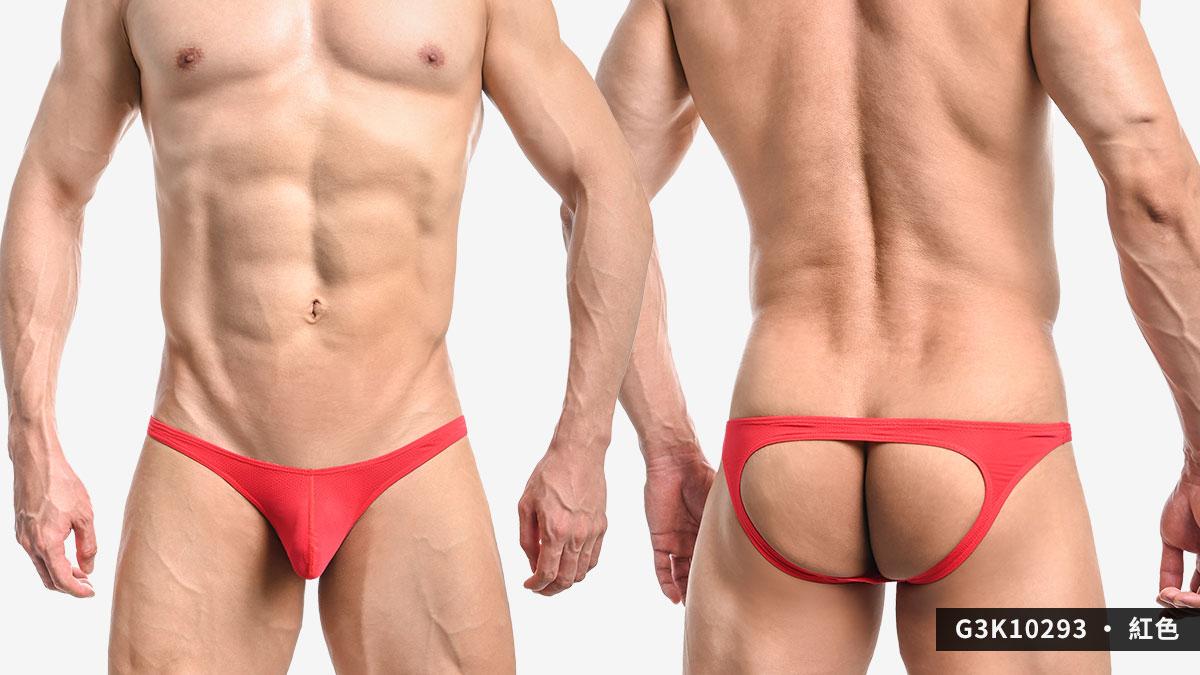 wantku,網孔,彈性,後空褲,男內褲,mesh,elastic,jockstraps,underwear,g3k1029,紅色,red,藍色,blue,黃色,yellow,g3k10293