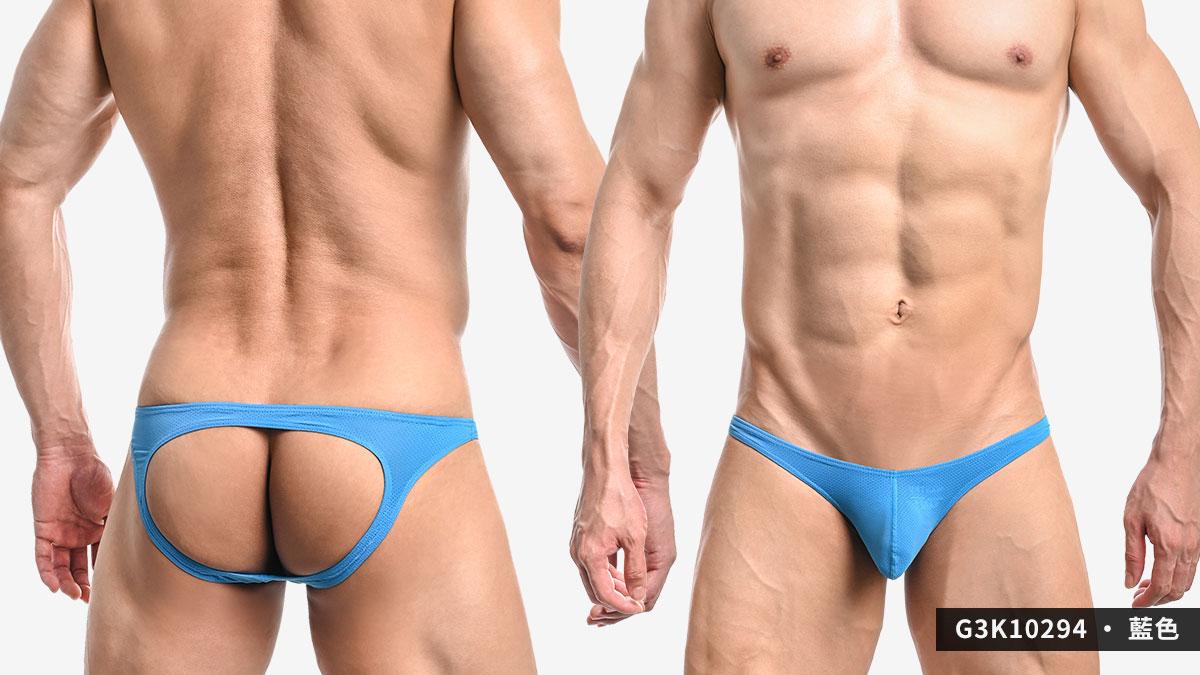 wantku,網孔,彈性,後空褲,男內褲,mesh,elastic,jockstraps,underwear,g3k1029,紅色,red,藍色,blue,黃色,yellow,g3k10294