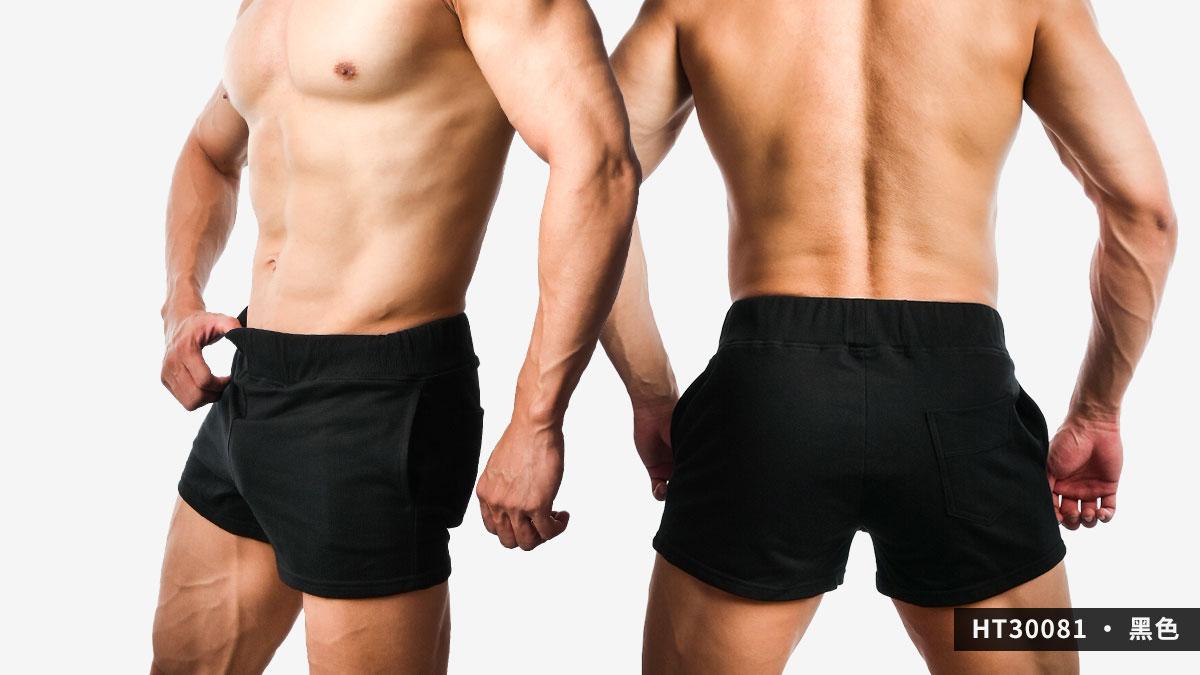 willmax,素色,棉質,短褲,plain,cotton,shorts,ht3008,黑色,black,ht30081