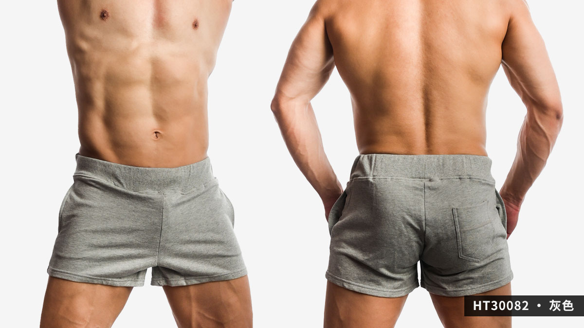 willmax,素色,棉質,短褲,plain,cotton,shorts,ht3008,灰色,grey,ht30082