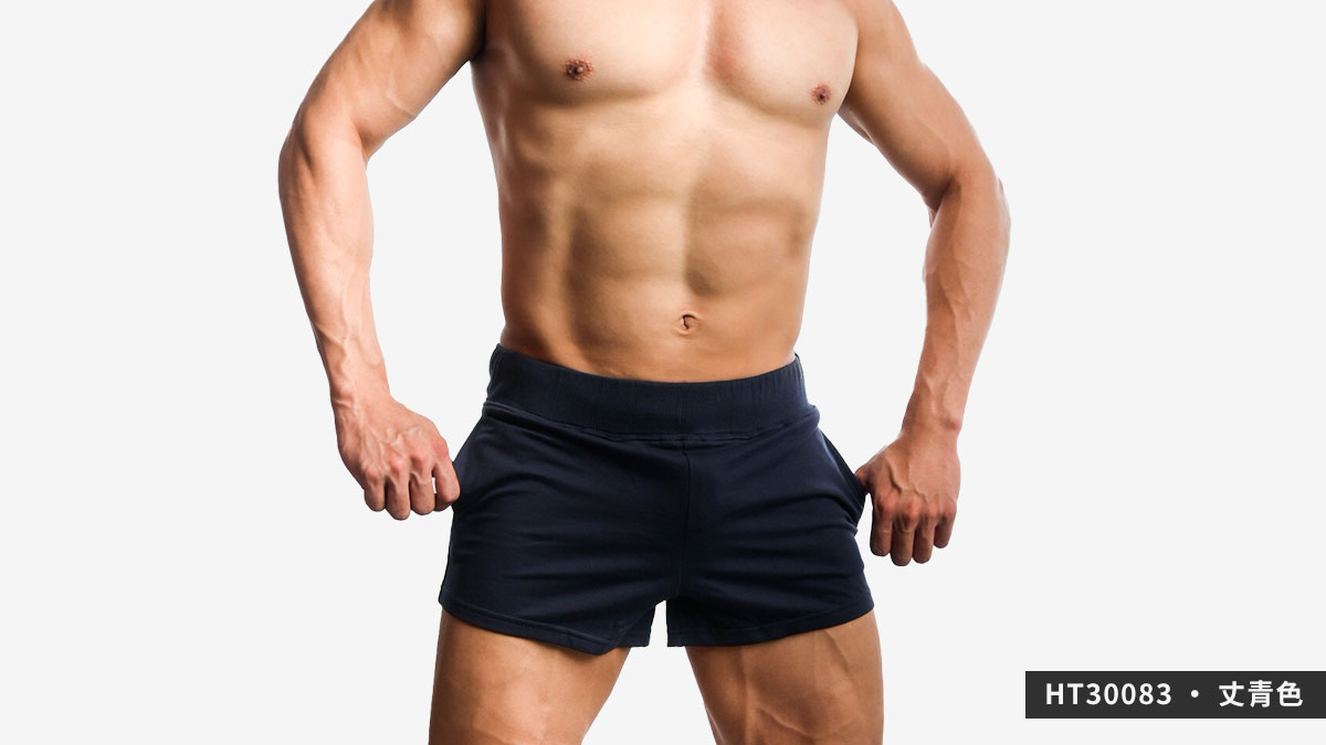willmax,素色,棉質,短褲,plain,cotton,shorts,ht3008,丈青色,navy blue,ht30083