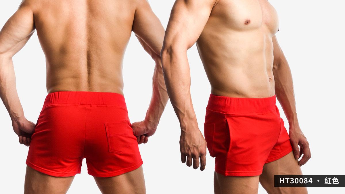 willmax,素色,棉質,短褲,plain,cotton,shorts,ht3008,紅色,red,ht30084