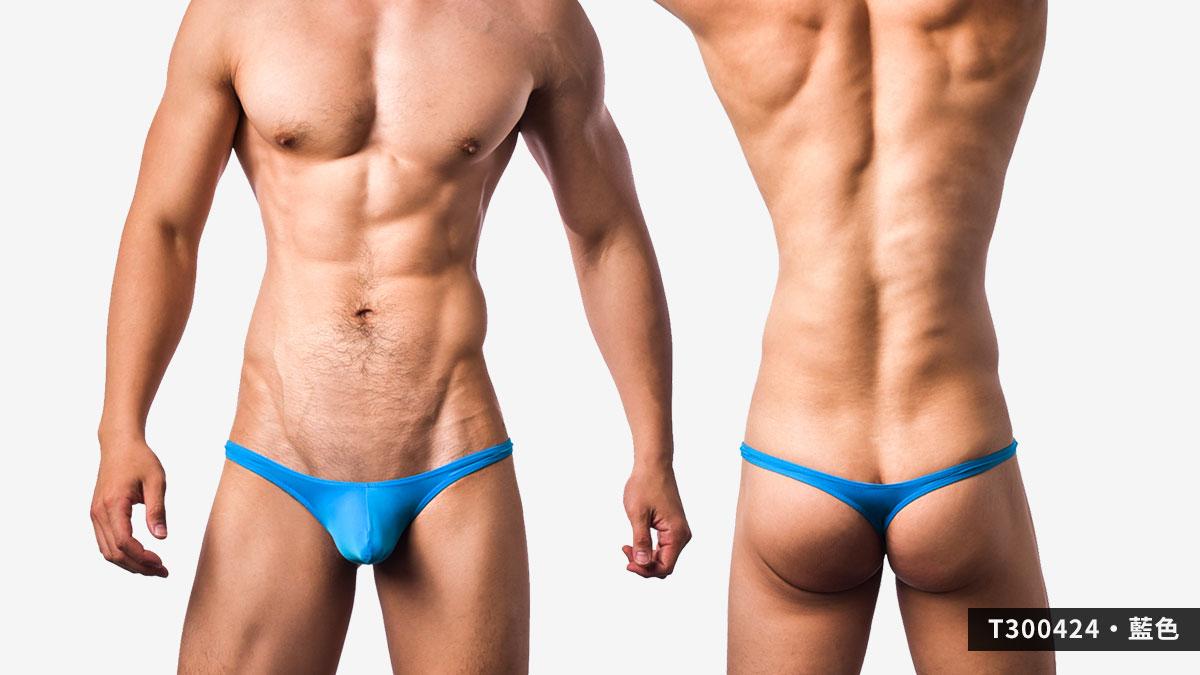 超薄,細邊,低腰,丁字褲,男內褲,ultra-thin,thin sided, low waist,thongs,underwear,t30042,藍色,blue,t300421