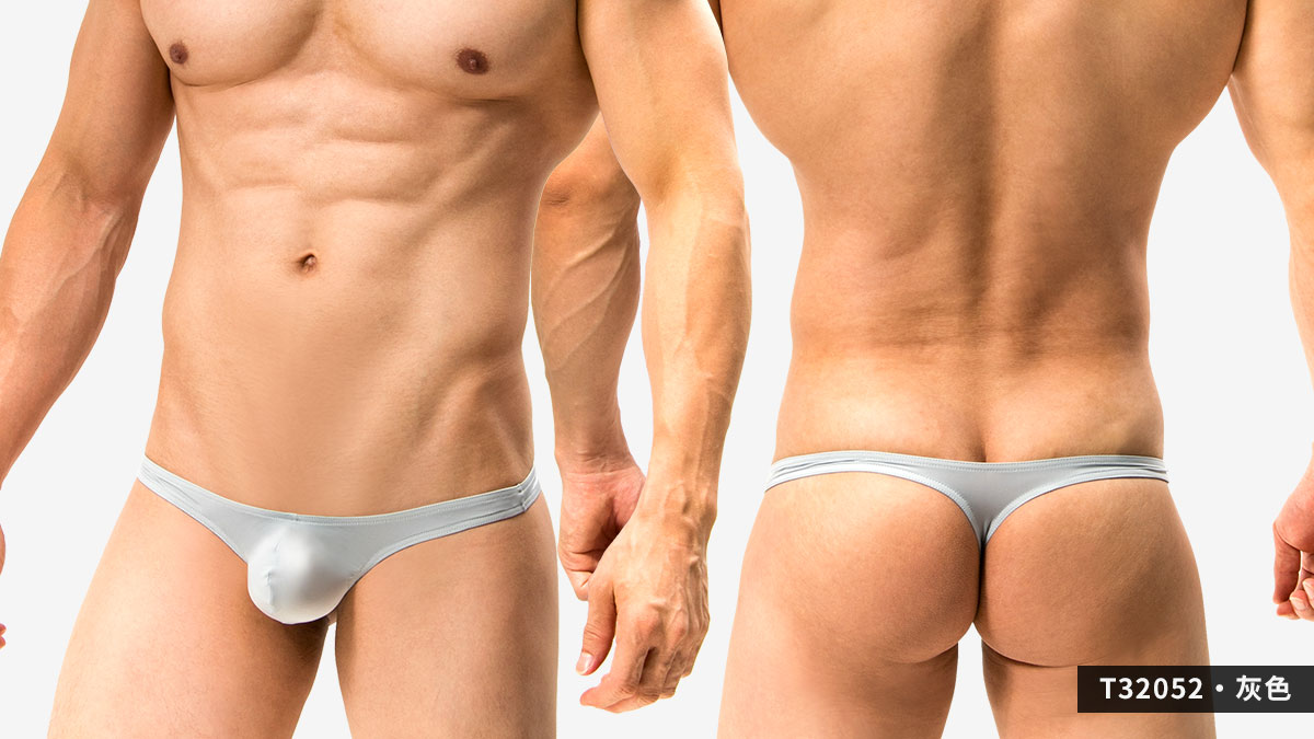 超薄,細邊,低腰,丁字褲,男內褲,ultra-thin,thin side,low waist,thongs,underwear,t3205,灰色,grey,t32052