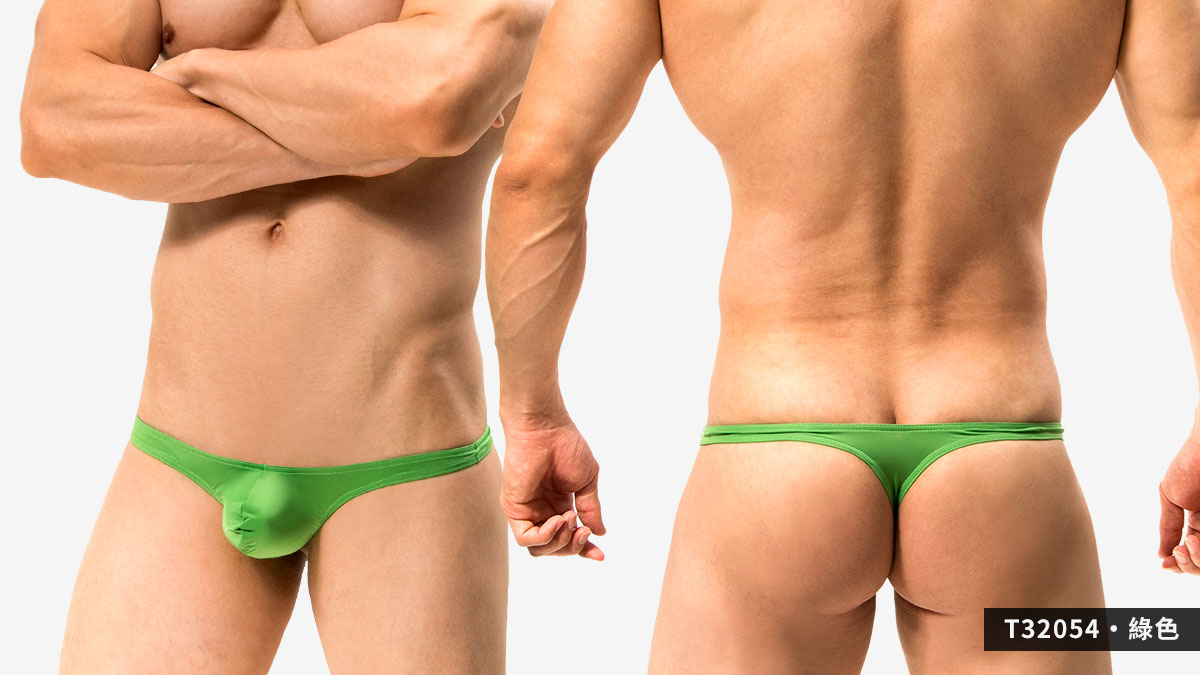 超薄,細邊,低腰,丁字褲,男內褲,ultra-thin,thin side,low waist,thongs,underwear,t3205,綠色,green,t32054