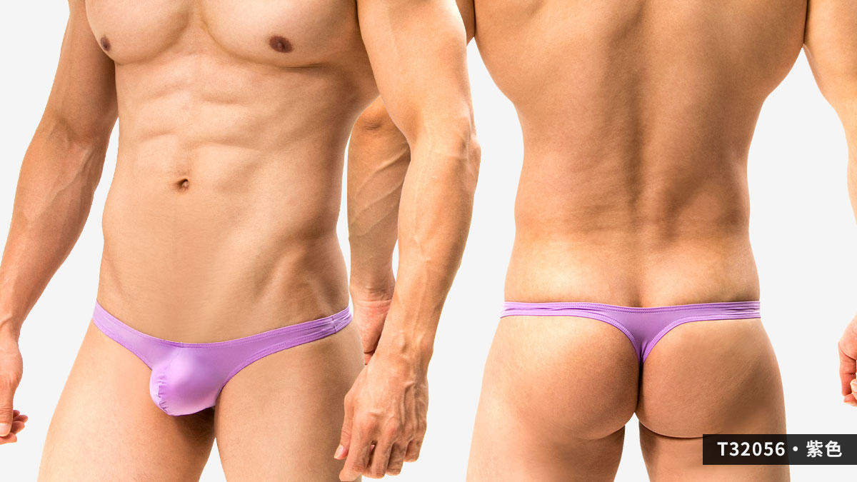 超薄,細邊,低腰,丁字褲,男內褲,ultra-thin,thin side,low waist,thongs,underwear,t3205,紫色,purple,t32056