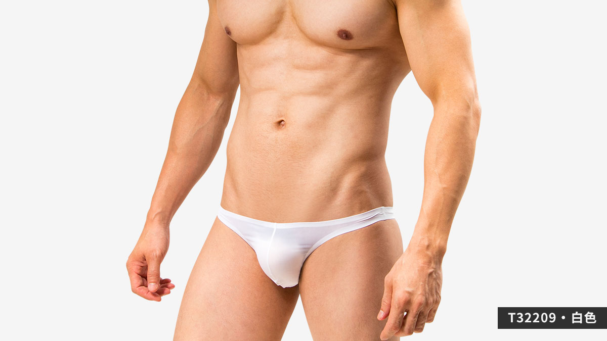 wantku,基本款,無痕,丁字褲,男內褲,basic types,seamless,thongs,underwear,t3220,白色,white,t32209