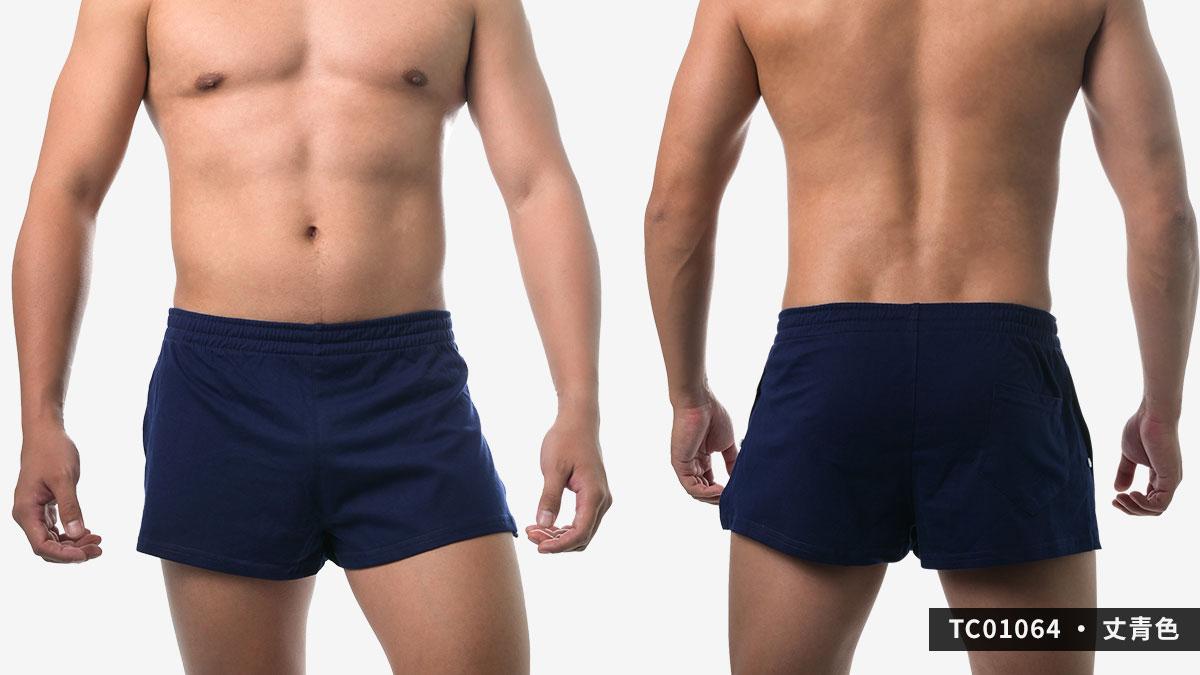 willmax,側扣,開岔,平口褲,g-cup,男內褲,side button,opened,trunks,underwear,tc0106,丈青色,navy blue,tc01064